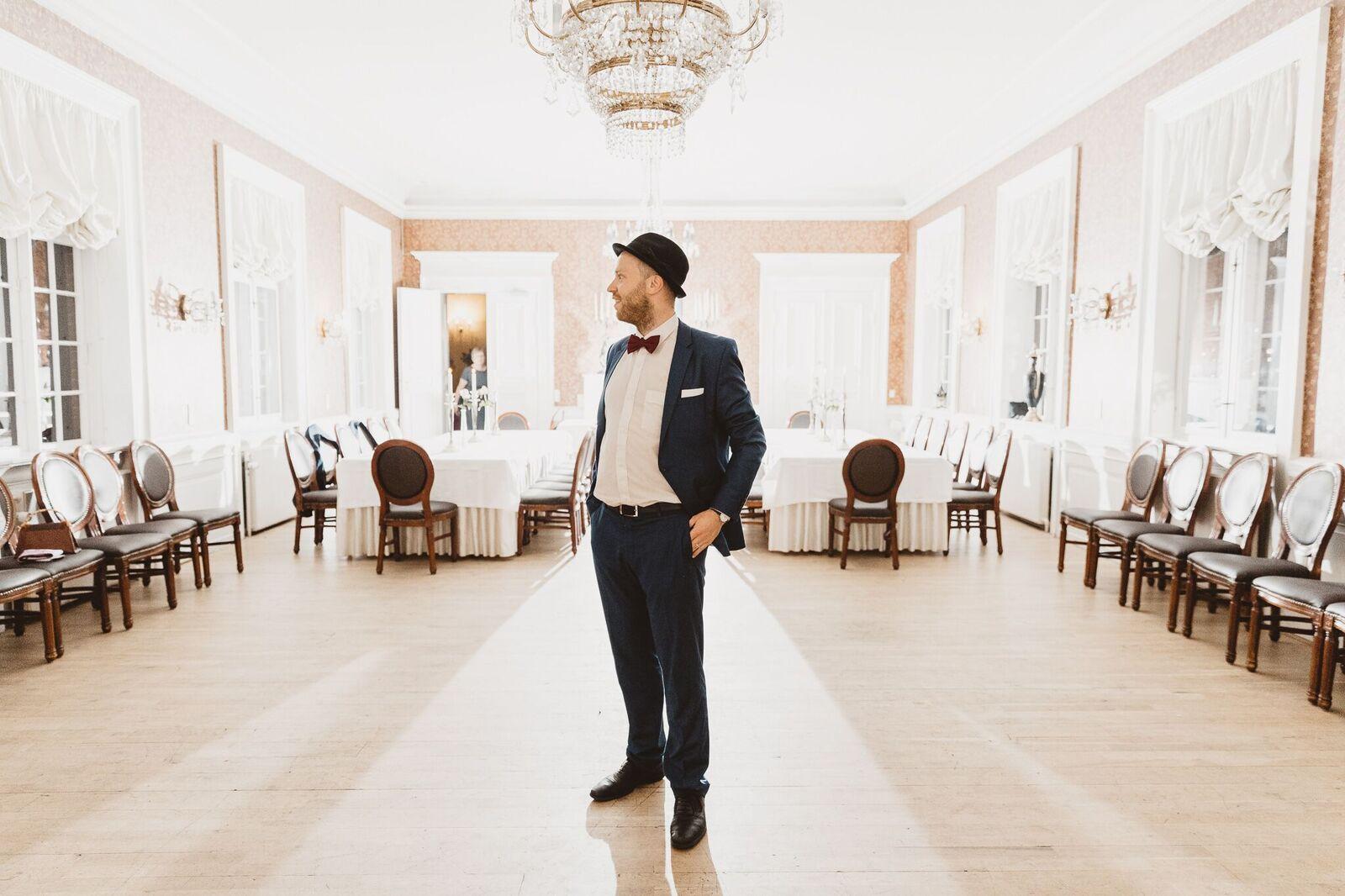 pianist til bryllup, Oscar Gilbert